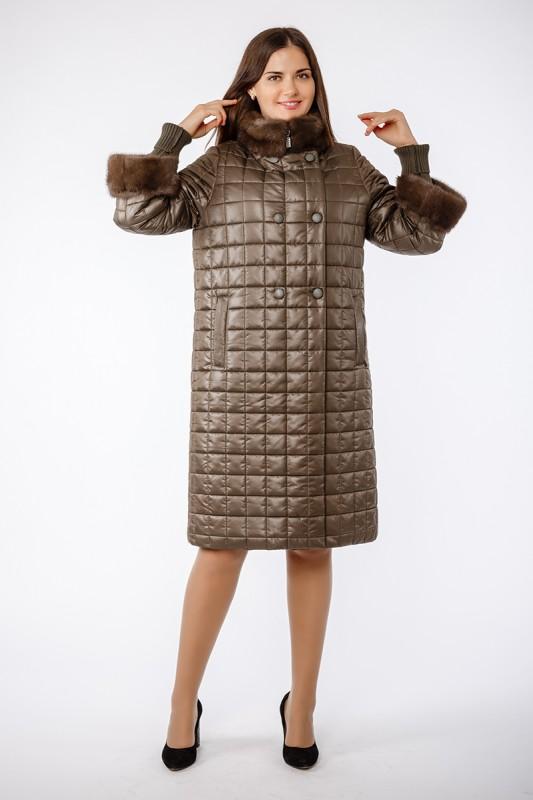 Пальто Elegant Хаки