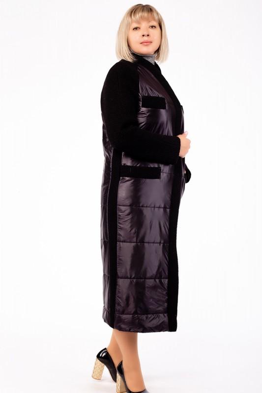 Пальто Ricco Черный