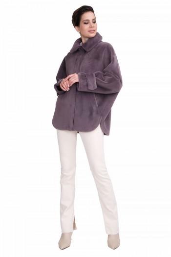 фиолетово-серый