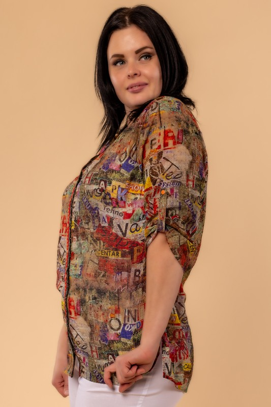 Блузки Ardatex Хаки