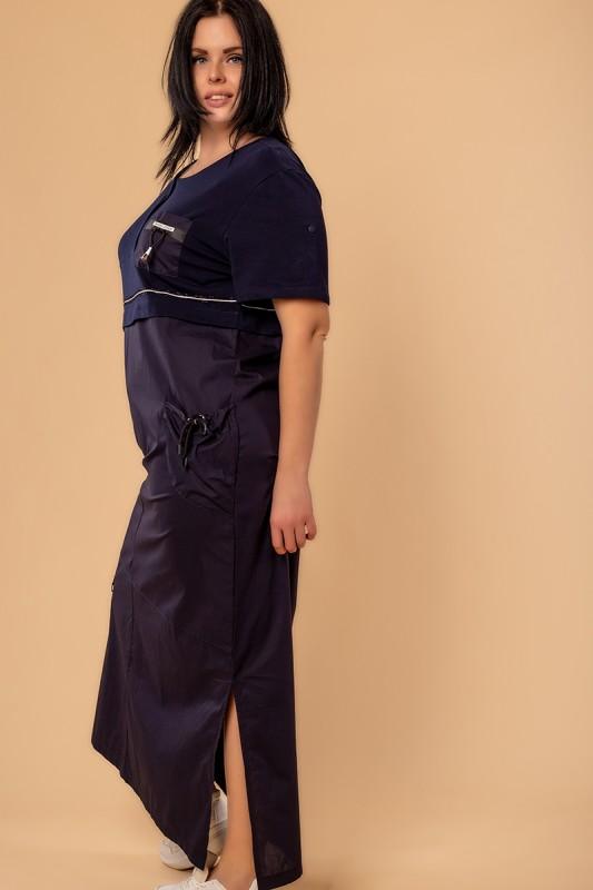 Платья New Color Синий